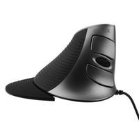 ergonomie ordinateur portable achat en gros de-Vente en gros- 2017 Date Souris d'ingénierie humaine Delux filaire M618 ergonomie verticale souris pour PC ordinateur portable