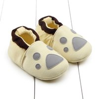 Wholesale China Infant Shoes - Wholesale- China Girl Boy Anti-slip Skid-proof Shoes Newborn Baby Flock Warm Shoes Soft Cotton Toddler Infant First Walkers Kids Hot
