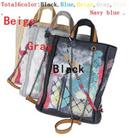 Wholesale Stripe Open Body - New Fashion Catwalks Famous Graffiti Canvas Totes,Womens Shoulder Bags Messenger Handbag Chain Bag casual Shopping Bag Cross Body 3308 Black