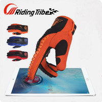 Wholesale Orange Tribe - 2016 New Riding Tribe Motocross motorcycle racing gloves summer Motorbike riding gloves can touch Mobile phone screen drop resistance CE-12