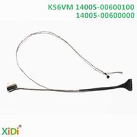 kablolar toptan satış-Toptan-YENI K56VM 14005-00600100 LCD MIC LVDS KABLO ASUS K56 K56C K56CM K56CA S56C LCD LVDS KABLO
