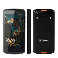 "Wholesale Water Proof Mini Cameras - AGM X1 Mini IP68 Waterproof 4G LTE Mobile Phone MSM8909 Quad Core 2GB+16GB 5.0"" IPS Android 6.0 NFC OTG 4000mAh SmartPhone"