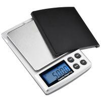 ingrosso scala di peso d'argento-500g x 0.01g Bilancia digitale di precisione Oro argento Gioielli Bilance peso Bilance Display LCD Unità bilance elettroniche tascabili