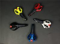 Wholesale Road Bike Saddle Blue - Pro saddles MTB road bike saddle bicycle seat black white blue flo yellow red