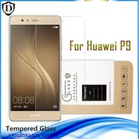 Wholesale Retail Sale Glasses - Hot Sales Tempered Glass for Huawei series Hscend P6 7 8 9 plus lite Mate8 HD Clear Screen Protector with retail package