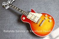 Wholesale ace guitar signature for sale - Group buy Newest Arrival Best Price Ace Frehley Budokan Signature LP Custom Electric Guitar China Factory In Stock For Sale