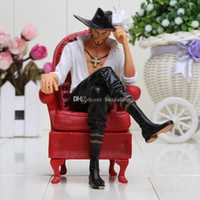 Wholesale One Piece Cool Action Figures - Anime One Piece Cool Dracule Mihawk Prize Creator x Creator Boxed PVC Action Figure Collectible Model Toy 16CM approx