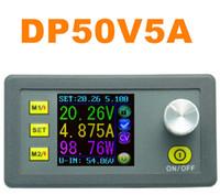 Wholesale adjustable power regulator - DP50V5A Adjustable Voltage Regulator Constant Voltage Current Step-down Power Supply Module color LCD Voltmeter