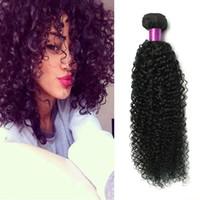 7a doğal sapık saç toptan satış-7A Moğol Sapıkça Kıvırcık Saç Örgü 4 Demetleri Kıvırcık İnsan Saç Uzantıları Moğol Saç Afro Kinky Kıvırcık Uzatma Doğal Siyah