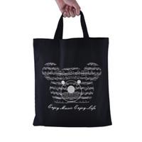 elemente tragbar großhandel-Music Element Bag - Tasche aus reiner Baumwolle - Einkaufstaschen - High Density und Thin-Soft Portable