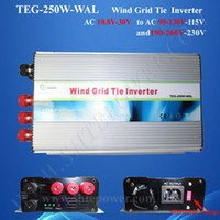 Wholesale Pure Sine Wave Micro Inverter - micro inverter grid tie wind 250w ,ac to ac wind turbine inverter,pure sine wave inverter