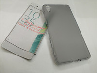 ingrosso caso del telefono mobile sony xperia-NUOVO Custodia TPU Gel Skin Pudding per Sony Xperia X Performance F8132 Soft Funda Celular Shell per cellulari