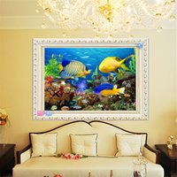 Wholesale 5D DIY diamond painting Embroidery Painting DIY Sea World Stitch Craft diamond pattern Home Decoration cm