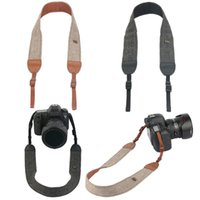 Wholesale Case For Tripod - 10XCamera Vintage Shoulder Neck Strape Durable Cotton Camera Strap for Sony Nikon Canon Olympus DSLR Camera