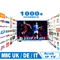 internet IPTV per arabo Europa italia francese 1000 canali, set di tv Android set Skyy news bbc Bein Sports su mag250 vu + ios