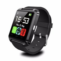 compagnon de montre intelligente u8 achat en gros de-U8 Smart montre montre-bracelet téléphone compagnon Bluetooth U8 pour IOS Android iPhone Samsung LG HTC