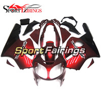 Wholesale Zx12r Red Body Kit - Injection Fairings For Kawasaki ZX12R 2000 2001 00 01 ABS Plastic Motorcycle Full Fairing Kit Cowlings Body Frames Dark Red Body Kits Covers