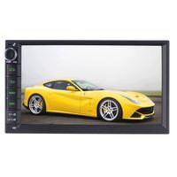 Wholesale Hd Car Radio 2din - Joyous Android 5.1.1 Quad Core Universal Car Audio Stereo GPS Navigation Double 2Din 1024*600 HD Radio Automotive Multimedia car DVD Player