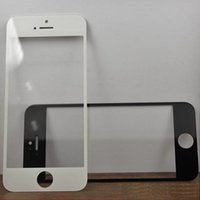 Wholesale Wholesale Mirror Iphone Digitizer - Front Outer Glass Lens for apple iPhone 6 iphone 6 plus wholesale high clear Touch Screen digitizer waterproof clear black white blue SNP007