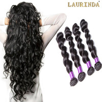 Wholesale peruvian human hair loose curl for sale - Group buy Bouncy Loose Curly Wave Brazilian Peruvian Malaysian Indian Virgin Hair Weave Cheap Loose Curl Remy Human Hair Extensions Bundles