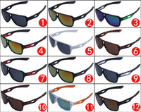 Wholesale united states cycling - New Hot Sell Europe and United States Sunglasses Men Brand Design sunglasses Sport cycling 7858 sunglasses 12 colors DHL shipping