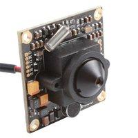 "Wholesale Dsp Ccd Board Camera - 700TVL Effio-E DSP 1 3"" SONY CCD Board Camera Audio MIC 3.7mm Pinhole Lens DC12V"