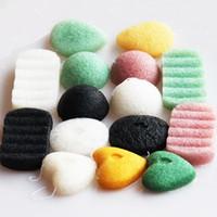 Wholesale Pure Body Cleanse - Konjac Sponge Puff Herbal Facial Sponges Pure Natural Konjac Vegetable Fiber Making Face Body Cleansing Tools