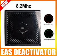 Wholesale Rf Decoder - Wholesale- eas rf soft label decoder 8.2mhz eas deactivator with green,red light and sound