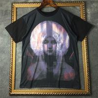Wholesale Madonna T Shirt - brand tag fashion men short sleeve t-shirt cotton t shirt round neck Madonna tshirt tee tops Camisetas clothing