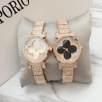Wholesale mm specials - Fashion Luxury Women Watch With full Diamond Quartz rose gold silver Dress Watch Bracelet special style Lady Brand Wristatch 2017 Hot sale