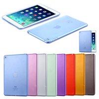 Wholesale Ipad Crystal Slim - Wholesale-For iPad Mini 4 Cases Luxury Soft TPU Gel Crystal Clear Case For iPad Mini 4 Mini4 Slim Anti-scratch Transparent Tablet Cover