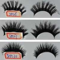 Wholesale cheap fake lashes - Cheap Eye Lashes Grafting black Fake Eyelash Long Thick Natural Makeup 3D False Eyelashes 30 style