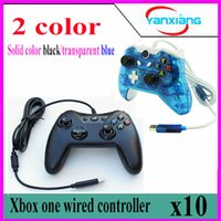 10pcs Nuovo Controller Wired originale per Xbox One Dual Joystick Gamepad Joystick wireless per Microsoft Xbox One YX-one-02