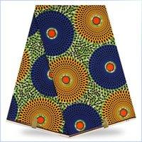 Wholesale Super Wax Hollandais New Design - (5Colour) NEW African Wax Fabrics Free Shipping!Guaranteed Quality!Fashionable Design Real Wax Fabric,Hollandais Super Wax Fabric 6Yards Lot