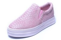Automne Casual Soft Flats Chaussures Femmes Rose Noir Round Toe Ladies Slip On Mocassins Driving Pregnant Loafers Creepers