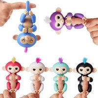 Wholesale Gift Box Pet - Fingerlings Monkey Toy, Interactive Electronic Baby Pet for children kids Halloween Christmas Gift ith Retail Box 1 Pack