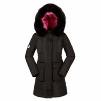 Wholesale womens white coats for winter - Womens Winter Jackets And Coats 2017 Thick Warm Hooded Down Cotton Padded Parkas For Women's Winter Jacket Female Mante