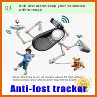 Cheap Hot New Bluetooth 4.0 Anti-lost Alarm Key Chain Locator Smart Tracker for iphone 5 6 6s plus Android phone