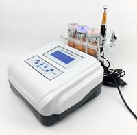foton ultrasonik anti aging makinesi toptan satış-Hızlı Etkili En Iyi Fiyat Soğuk Tedavi Ultrasonik Yüz Kaldırma Anti-aging Led Foton Kırışıklık Kaldırma No-İğne Mezoterapi Makinesi