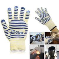 Wholesale Silicone Slip Grip - Ove Glove Washable Non Slip Silicone Grip Oven Glove Hot Resistance Surface Handler Grip Anti scald Non-slip Kitchen Tools CCA7285 120pcs