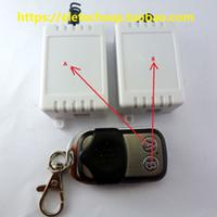 wireless remote control relay switch بالجملة-2 مفتاح EV1527 لاسلكي للتحكم عن بعد + 2PCS 1 قناة التعلم رمز استقبال تأخير التبديل التقوية لمرآب السيارات الذكية LED المنزل