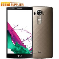Wholesale android mobile phone 8mp camera for sale - Group buy 2016 limited Hot Sale Original Unlocked LG G4 Inch Smartphone GB RAM GB ROM MP Camera Gps Wifi Android refurbished mobile phone