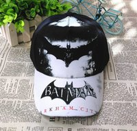 Wholesale Girls Snapbacks Hats - Kids Baseball Hats Snapbacks Cartoon Batman Hat Casual Baseball Cap Boys Snapback Girls Caps Children Gift 2016 Fashion Accessories New