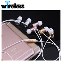 Wholesale Grade Noise Cancelling - 2016 new metal earphone fashion multi-color high-grade heavy bass ear headephone for iphone samsung