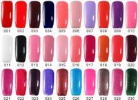 Wholesale Cheap Gel Nail Sets - Art Nail Gel 10PCS IN SET Gel Nail Polish UV&LED Shining Colorful 132 Colors Long lasting Soak off Varnish cheap Manicure