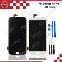 Wholesale Parts Accessories For Mobile - Wholesale- Doogee X9 Pro LCD Display and Touch Screen Assembly Repair Part 5.5 inch Mobile Accessories For Doogee X9 Pro +Tools