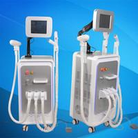 Wholesale E Light Ipl Rf - ipl hair removal machine Nd yag laser tattoo removal e-light ipl rf 3 in 1 multifunction machine