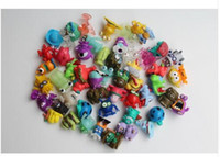 Wholesale Trash Pack Wholesaler - 200pcs Multi Monsters Capsule doll. with a hole Gashapon toy 3.5cm trash monster pack doll