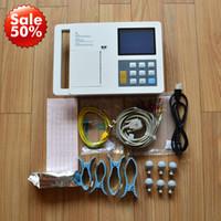 Wholesale Digital Ecg Machine - 5.7in six channel ECG 12 lead+ECG work station pc, Electrocardiograph, hot sale 6 channel ECG machine,digital ecg, portable handheld ecg ekg