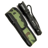 Wholesale Family Torch - 18cm Camouflage Holster Pouch Bag Case for LED Torch Flashlight F00063 SPDH